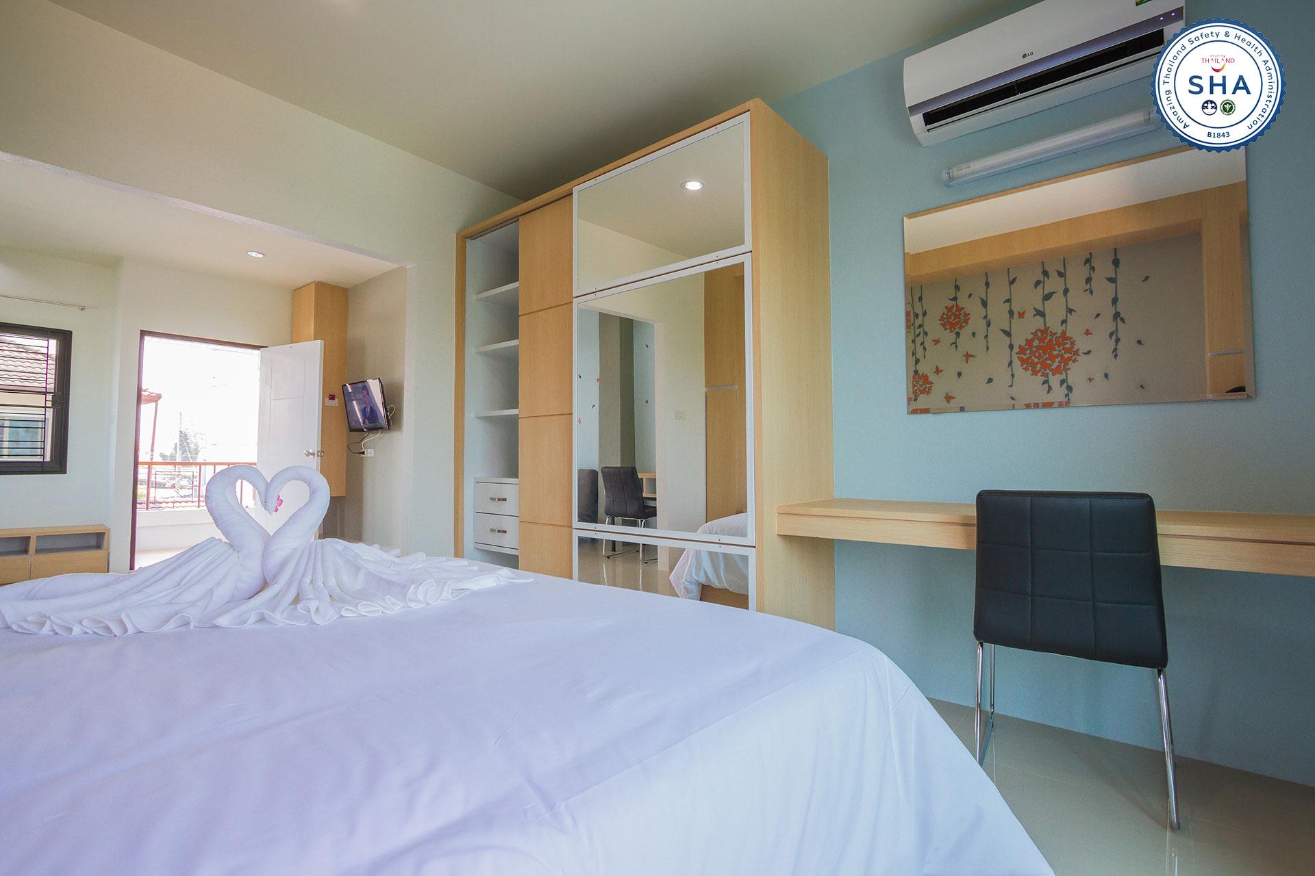 Studio Deluxe Suite : Double bed
