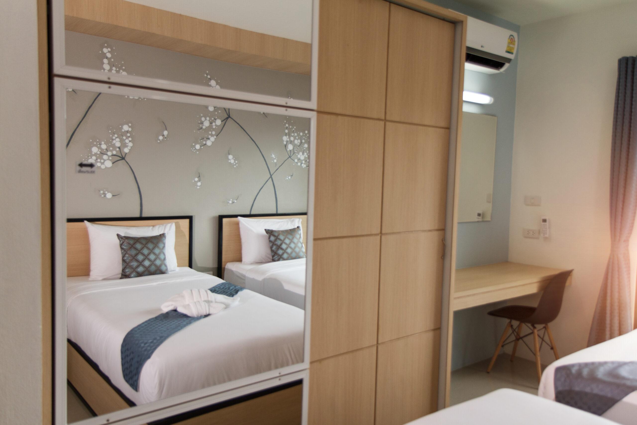 Studio Deluxe Suite : Twin Bed